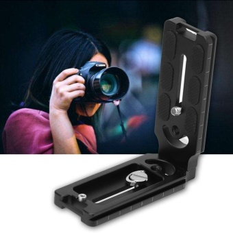 L-Shape Plate Quick Release Plate Bracket Holder For CamFi Wireless Remote Camera Controller - intl