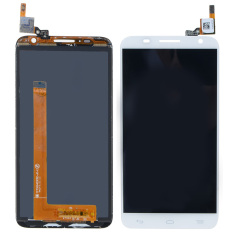 LCD Display Touch Screen Digitizer For Alcatel One Touch Idol 6050 (White) -