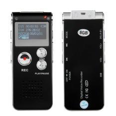LCD USB 8GB Digital SPY Hidden Audio Voice Recorder Dictaphone MP3 Player