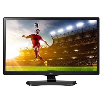 "LG 22"" LED Full HD TV - Hitam (Model 22MT48AF)"