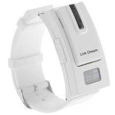 Link Dream Separate Design Bluetooth V3.0 Headset Sports Watch with Micro USB Interface For IPhone 6/6 Plus 5 5.4 4S Samsung HTC and Smartphones (White) (INTL)