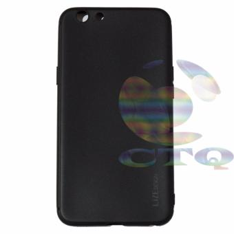 Lize Jelly Case Oppo A39 Candy Rubber Skin Soft Back Case /Softshell / Silicone Oppo A39 / Jelly Case / Ultrathin / CaseSamsung / Casing Hp - Hitam / Black