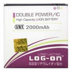 Log On Battery Baterai Double Power BST-43 SONY ERICSSON J20 - 2000mah
