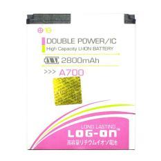 LOG-ON Battery For MITO A700 2800mAh Double Power & IC - Garansi 6 Bulan
