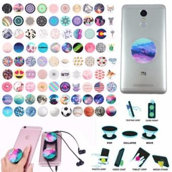 Lucky - Promo Pop Socket Random Model - Popsocket Ring Grip Stand Tablet / Smartphone -