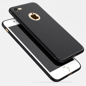 Luxury Ultra Slim Silicon For iPhone 5/5S/5SE Soft TPU BackCover(Black