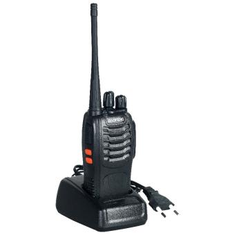 LZD Baofeng Walkie Talkie 16CH UHF 400-470MHz 1PCS - BF-888S - Black