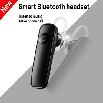 M165 Wireless 4.1 Bluetooth Earphone Hands-free Stereo Headset with Noise Cancelling MIC All Mobile Phone and Other Bluetooth Devices - Black - intl