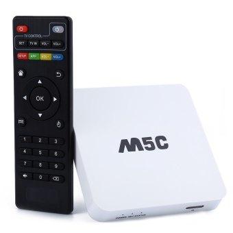 M5C TV Box Amlogic S805 Quad Core Android 4.4 1GB RAM 8GB ROM KODI Pre-installed 2.4G WiFi Bluetooth HDMI