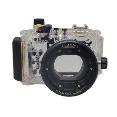 Mcoplus Underwater Waterproof Diving Housing Case 40.130ft For Canon WP-DC47 Powershot S110 WPDC47 (Intl)