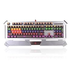Mechanical Gaming Keyboard, Bloody B740A Light Strike Mechanical Gaming Keyboard - Bloody Light Strike Provides You A Swifter Response Speed Of Over 0.2MS Faster Than Other Gaming Brands - Intl