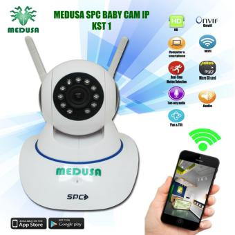MEDUSA SPC Baby Camera IP KST 1 (1,0MP/Wifi/Onvif/SD Card/Two Way Audio)