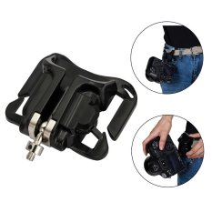 Meking Quick Waist Belt Holster Strap Buckle Hanger Holder Pocket For Camera DSLR - INTL