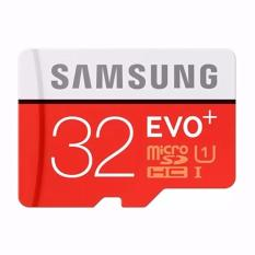 Memory Samsung 32 Gb Uhs-I 80mb/S Class 10 Evo Plus Micro Sdhc Card With Sd Adapter