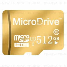 Micro Memory SD/TF Card Calss 10 512GB (Gold) - intl
