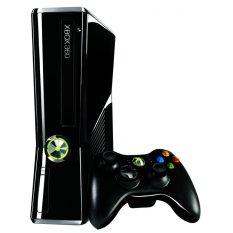 Microsoft XBOX 360 Slim - 250 GB - Full Games Include HDD - Hitam