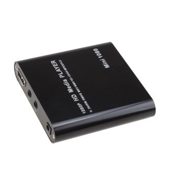 Mini 1080P USB SD MMC HD AV Port TV Multi Media Player-MKV / RM-SD / USB HDD-MI