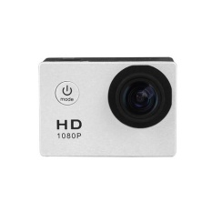 Mini Action Camera, Full HD 720P 30m Waterproof Sports DV Camcorder with 2 Inch LCD Screen for Extreme Outdoor Sports Color:White - intl