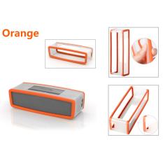 Mini Bluetooth Speaker Soft Cover Protection Case Box Bag For BOSE-SOUNDLINK (Orange)