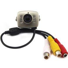 Mini Tiny 6 IR LED 420TVL CCTV Security Camera Spy CamIRNightVision - Intl