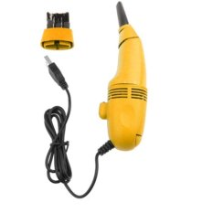 Mini USB Vacuum Keyboard Cleaner For Laptop Computer PC - Kuning