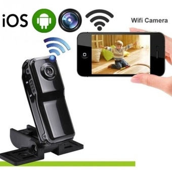 Mini WiFi MD81 IP Camera HD Wireless Spy Remote Surveillance HiddenCamera - intl