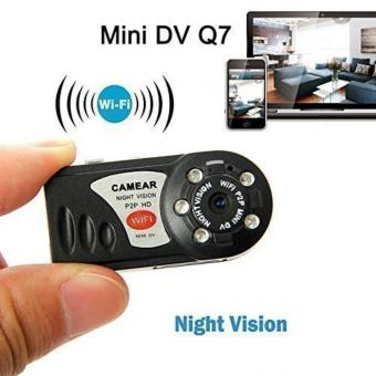 Mini Wireless Hd Wifi Ip Camera Q7 Surveilliance SPY Camera VideoCam Recorder With With Ir Night Vision