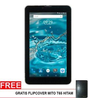 Mito T65 Fantasy Tablet – 8GB – Hitam + Gratis Flipcover