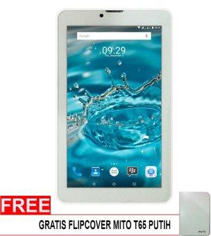 Mito T65 Fantasy Tablet – 8GB – Putih + Gratis Flipcover