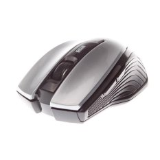 MJT JT3240 Wireless Mouse 5 Keys Designed Optical Mouse 2.4GHz 1600DPI (Silver)