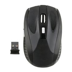 Moonar 2.4 gHz Wireless Mouse USB Optik Tikus Hitam