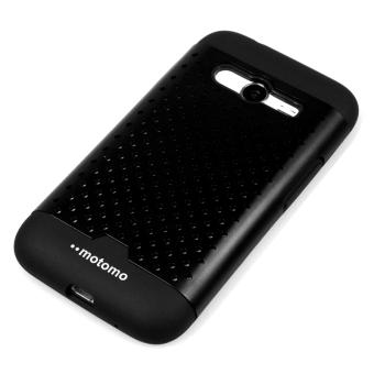Motomo Hardcase Net Case For Samsung Galaxy V G313 - Hitam
