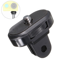 Mount To 1/4'' Thread Tripod Mount Adapter for Sony Action Cam Black