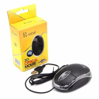 Mouse USB R-ONE Black