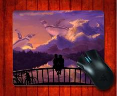 MousePad Looking At The Flying Penguins Fantasy For Mouse Mat 240*200*3mm Gaming Mice Pad - Intl