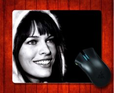 MousePad Milla Jovovich40 Celebrity For Mouse Mat 240*200*3mm Gaming Mice Pad - Intl