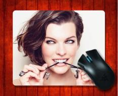 MousePad Milla Jovovich84 Celebrity For Mouse Mat 240*200*3mm Gaming Mice Pad - Intl