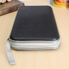 Multi Colors 80x Disc CD DVD Portable Storage Case Wallet Hard Box Bag Holder Black - Intl