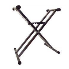 Multi Keyboard Stand Double - Hitam