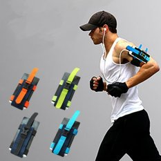 Multifunctional Outdoor Mobile Phone Arm Belt Bag Wristlet Running Arm Package Running Arm Package 91g - Intl