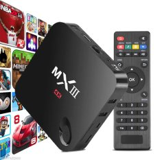 MX III MXIII MX3 2G / 8G QUAD CORE Android 4K TV BOX Media Amlogic S802 - Intl