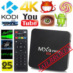 MXQ PRO S90.4K 8GB Quad Core Android 5.1 Smart TV Box WiFi KODI Fully Loaded AU