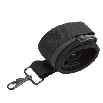 Neck Shoulder Belt Flexible Camera Strap for DSLR Sony Canon Nikon(Black) - intl
