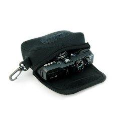 NEOPine Elastic Neoprene Camera Case For Canon Powershot G10 G11G12 G15 G16 Sony DSC HX50 (Black)