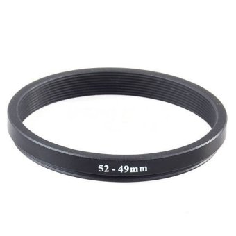 New 52mm-49mm Metal Step Down Lens Filter Ring Stepping Adapter