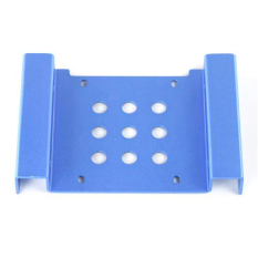 """New HDD Aluminum Rack 5.25"""" To 2.5"""" / 3.5"""" SSD / HDD Hard Disk Drive Mount Bracket"""