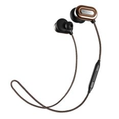 New Macaw T1000 Bluetooth Earphone In Ear Wireless Earbuds Waterproof Earphone Stereo Auriculares Running Sport Headset With Mic (Brown) (Intl)