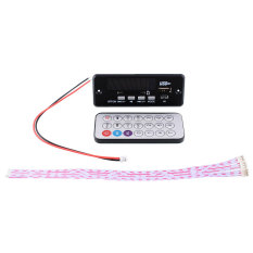 New Useful Black Mini Remote Control USB SD FM MP3 Audio Player Module - Intl