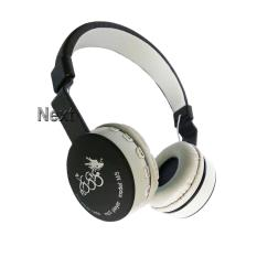 Next 888 Headphone 4 in 1 FM TF.MP3 Bluetooth Stereo EDR Bisa Dilipat dengan Mic untuk Smartphone & Tablet