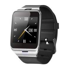 NFC Aplus Smart Kamera Jam Tangan Bluetooth perhiasan dengan kartu SIM jam pintar (Hitam)